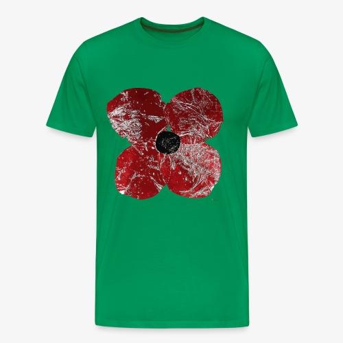 Klatschmohn 1 - Men's Premium T-Shirt