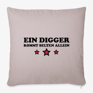 Ein Digger kommt selten allein Kult Mütze Beanie - Sofakissenbezug 44 x 44 cm