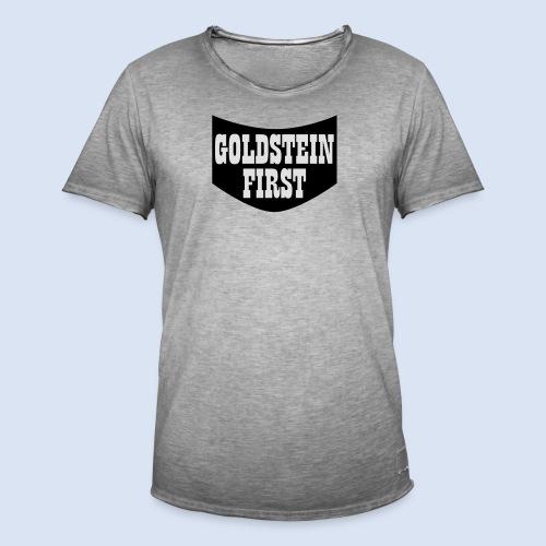 GOLDSTEIN FIRST - Bembeltown Shirt Frankfurt - Männer Vintage T-Shirt
