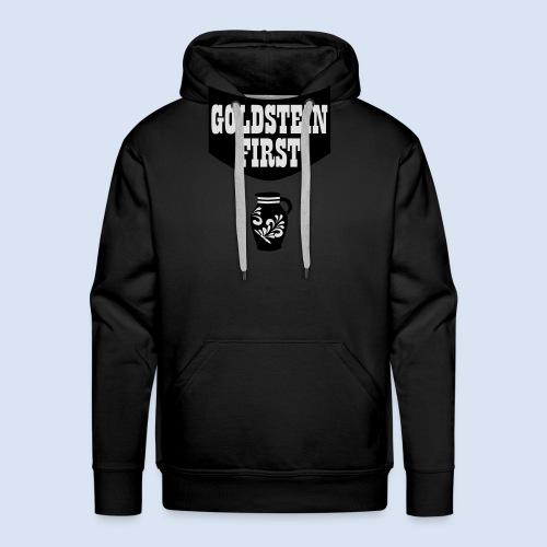 GOLDSTEIN FIRST - Bembeltown Shirt Frankfurt - Männer Premium Hoodie