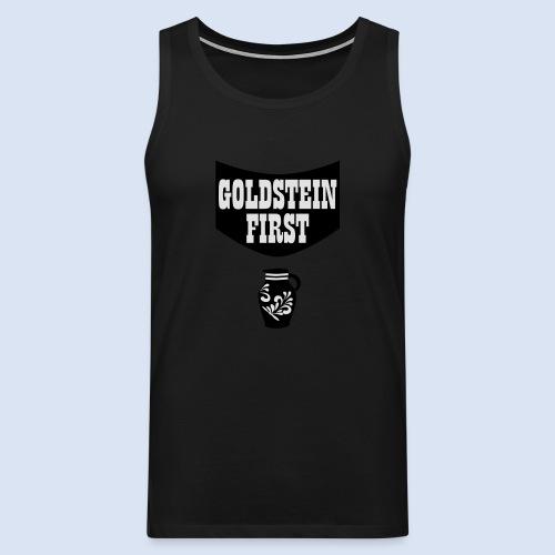 GOLDSTEIN FIRST - Bembeltown Shirt Frankfurt - Männer Premium Tank Top