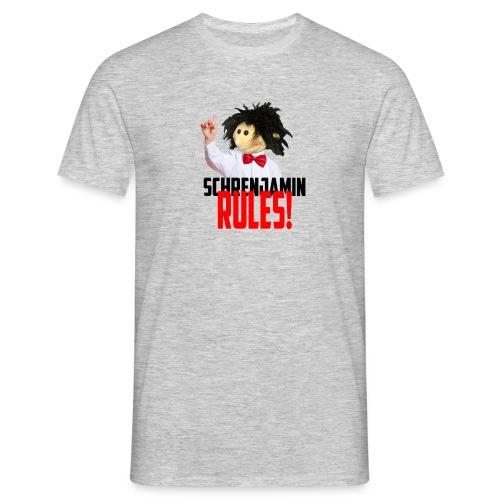 Schrenjamin Rules - Männer T-Shirt