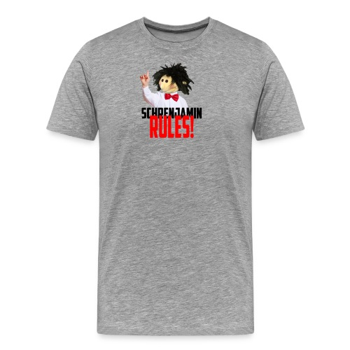 Schrenjamin Rules - Männer Premium T-Shirt