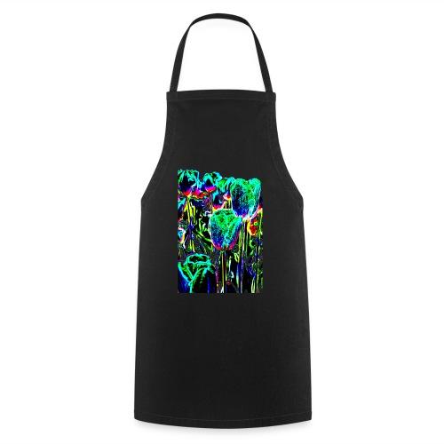 Tulpen - multicolor-3 - Kochschürze