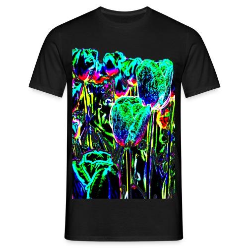 Tulpen - multicolor-3 - Männer T-Shirt
