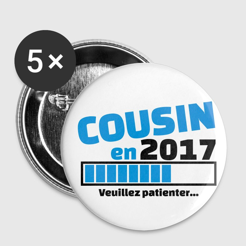 cousin en 2017 Badges - Badge petit 25 mm