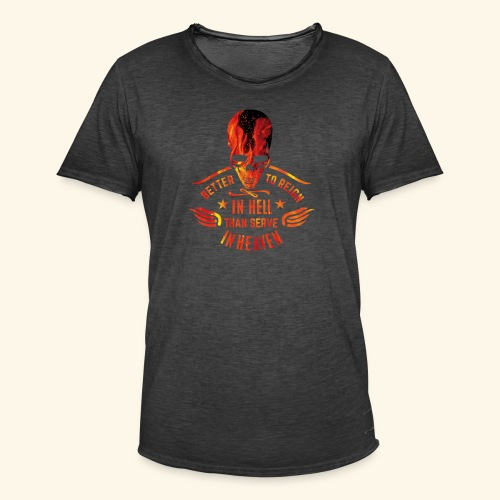 Reign in Hell T-Shirts - Männer Vintage T-Shirt