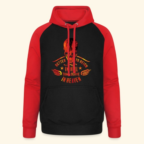 Reign in Hell T-Shirts - Unisex Baseball Hoodie