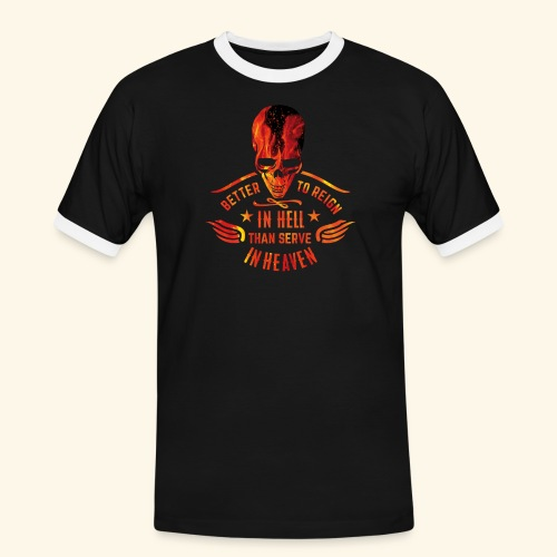 Reign in Hell T-Shirts - Männer Kontrast-T-Shirt