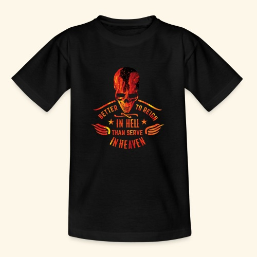 Reign in Hell T-Shirts - Teenager T-Shirt