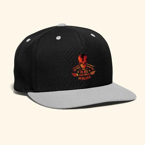 Reign in Hell T-Shirts - Kontrast Snapback Cap
