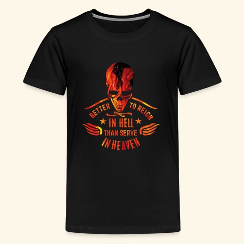 Reign in Hell T-Shirts - Teenager Premium T-Shirt