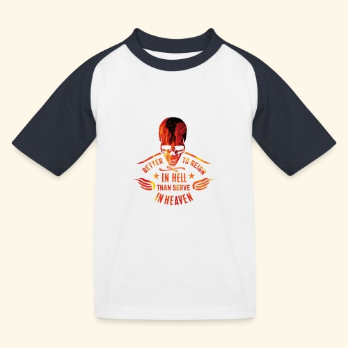 Reign in Hell T-Shirts - Kinder Baseball T-Shirt