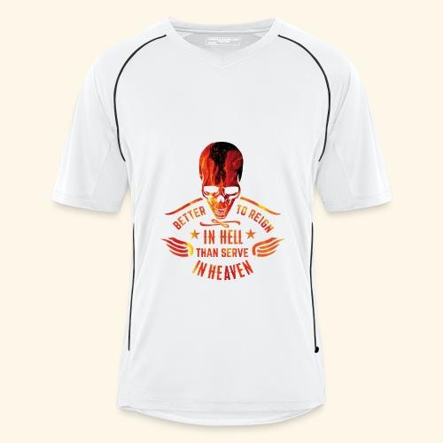 Reign in Hell T-Shirts - Männer Fußball-Trikot