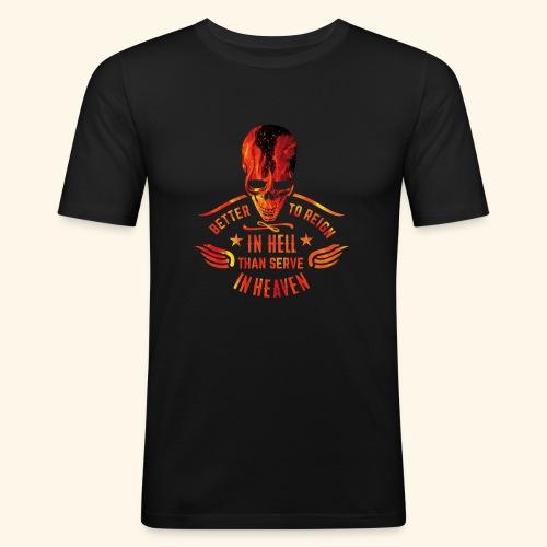 Reign in Hell T-Shirts - Männer Slim Fit T-Shirt