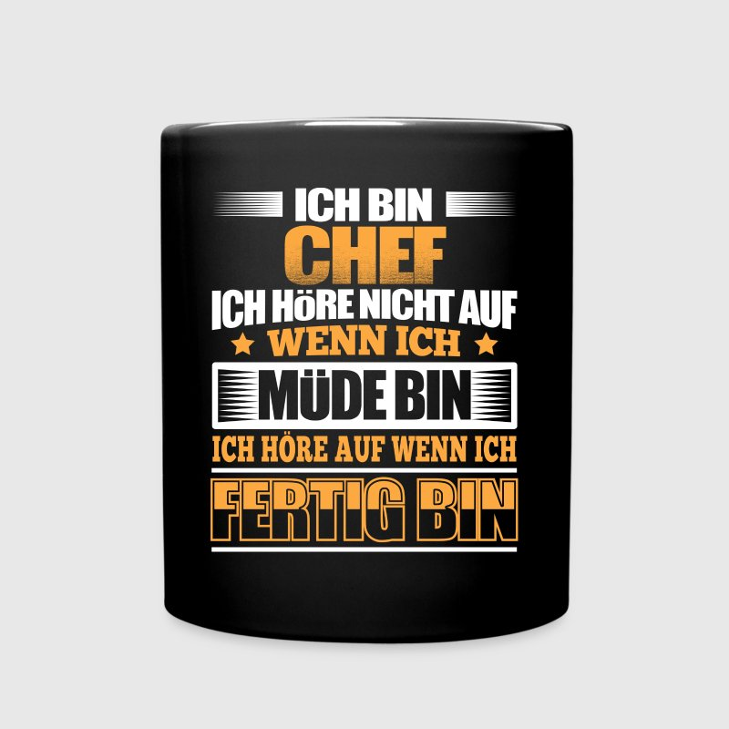 CHEF - Der Fertigsteller - Tasse einfarbig