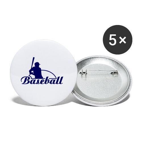 st002355 - Confezione da 5 spille piccole (25 mm)