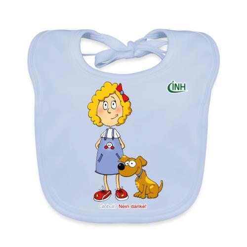 Bio-Kindershirt Susannchen&Bello - Baby Bio-Lätzchen