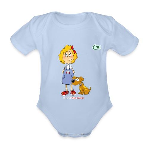 Bio-Kindershirt Susannchen&Bello - Baby Bio-Kurzarm-Body