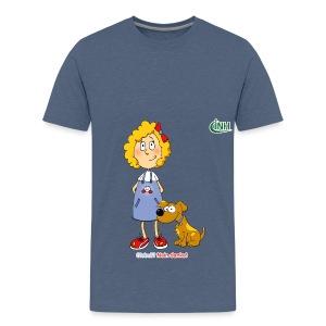 Bio-Kindershirt Susannchen&Bello - Teenager Premium T-Shirt