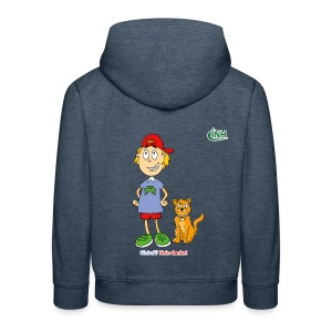 Bio-Kindershirt Max&Hannibal - Kinder Premium Hoodie