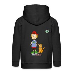 Bio-Kindershirt Max&Hannibal - Kinder Premium Kapuzenjacke