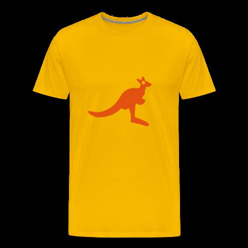 Kangaroo - Männer Premium T-Shirt
