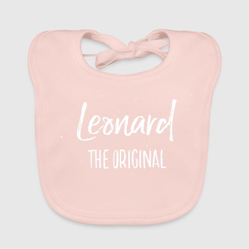 Leonard Baby Lätzchen - Baby Bio-Lätzchen