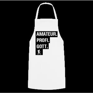 Amateur Profi Gott Fussball Shirt - Kochschürze
