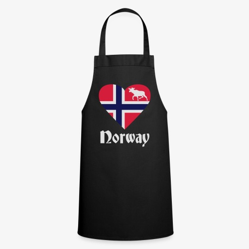 Norwegen Elch Herz T-Shirts - Kochschürze