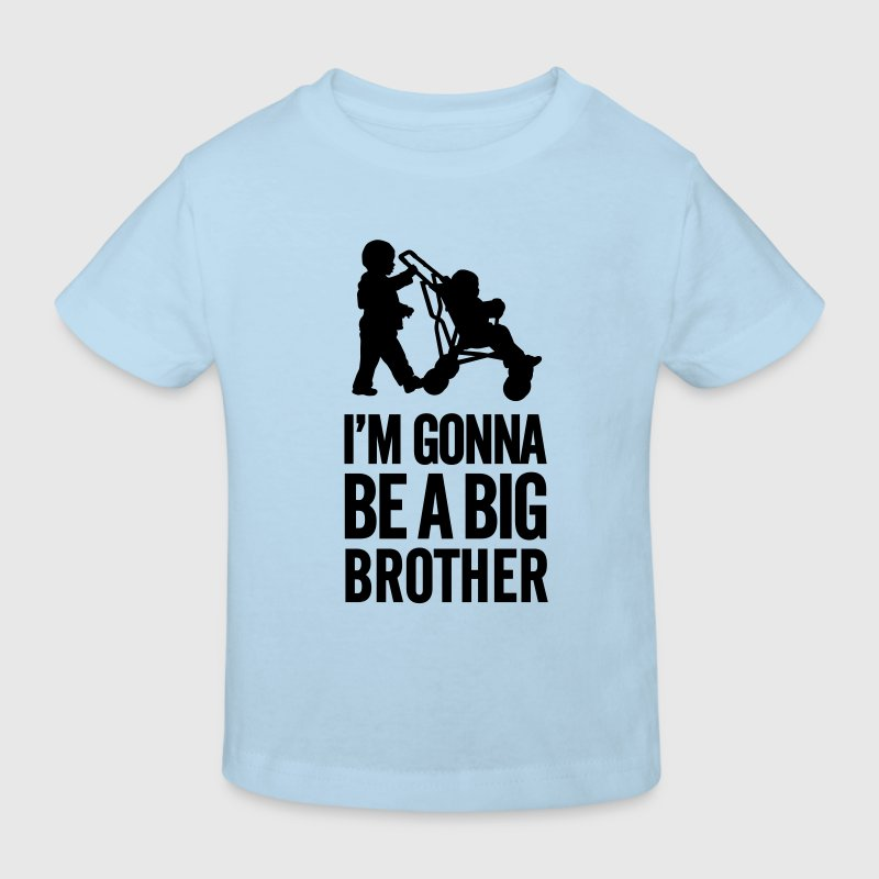 I'm gonna be a big brother baby car Shirts - Kids' Organic T-shirt