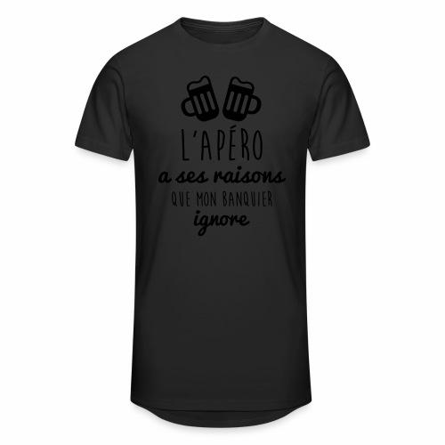 L'apéro a ses raisons ...  - T-shirt long Homme