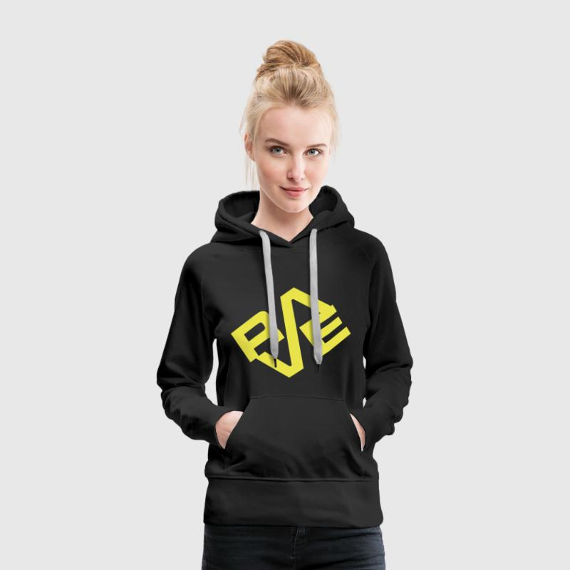 Black Rave Jumpers  - Women's Premium Hoodie