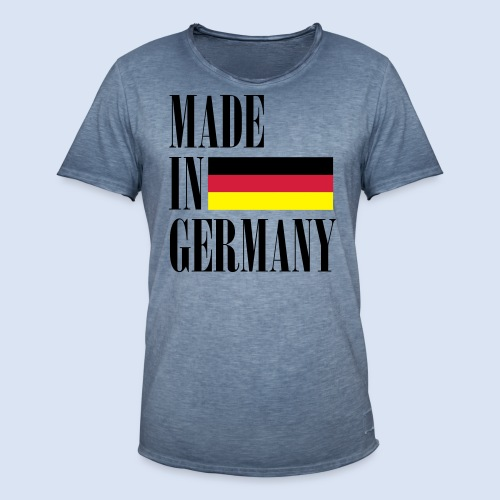 MADE IN GERMANY - Deutschland - Männer Vintage T-Shirt