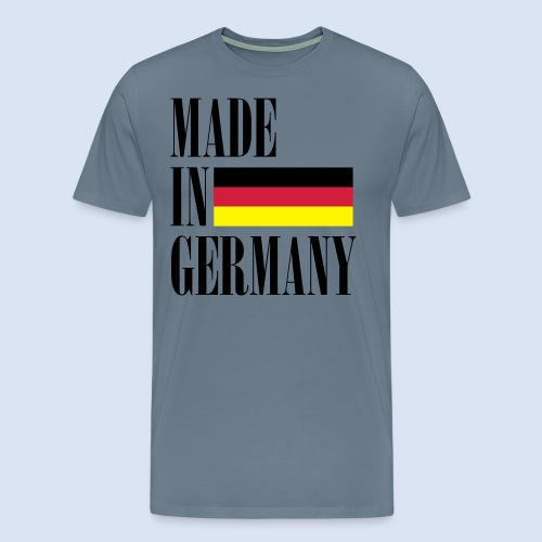 MADE IN GERMANY - Deutschland - Männer Premium T-Shirt