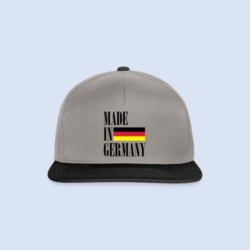 MADE IN GERMANY - Deutschland - Snapback Cap