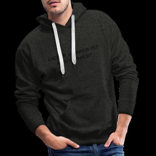 Ausdefiniert T-Shirt - Männer Premium Hoodie