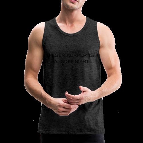 Ausdefiniert T-Shirt - Männer Premium Tank Top
