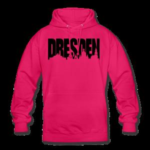 Dresden Skylineschatten Shirt - Unisex Hoodie