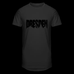 Dresden Skylineschatten Shirt - Männer Urban Longshirt