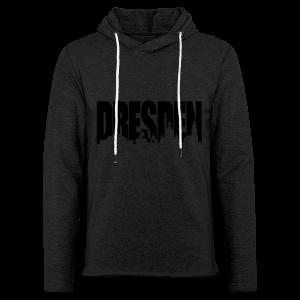 Dresden Skylineschatten Shirt - Leichtes Kapuzensweatshirt Unisex