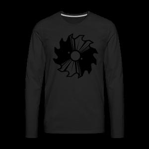 Kreissägenblatt Shirt - Männer Premium Langarmshirt