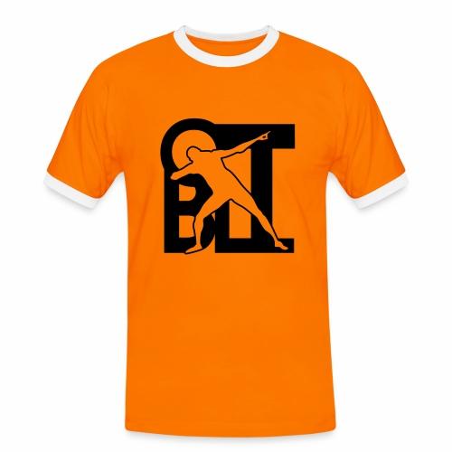 Blitz und Sieg - Männer Kontrast-T-Shirt