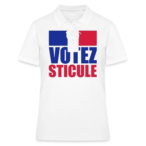 citation votez sticule - Women's Polo Shirt