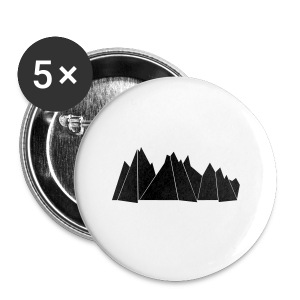 Tasse MOUNTAINS - Buttons groß 56 mm