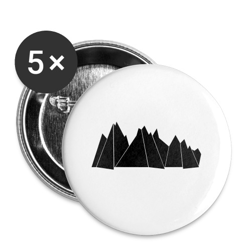 Tasse MOUNTAINS - Buttons klein 25 mm