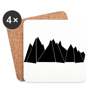 Tasse MOUNTAINS - Untersetzer (4er-Set)