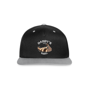 Daddy's Girl - Casquette Snapback contrastée