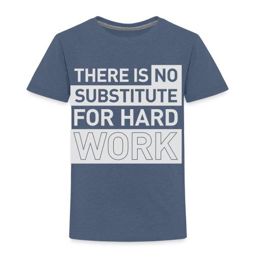 NO SUBSTITUTE –  running men's gym t-shirt - Kids' Premium T-Shirt
