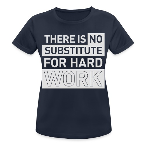 NO SUBSTITUTE –  running men's gym t-shirt - Women's Breathable T-Shirt